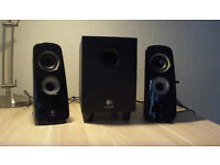 Logitech Speakers With Subwoofer - High Bass Stereo Surround Sound System