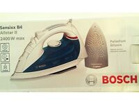 BOSCH SENIXX B4 ALLSTAR 2 STEAM IRON 2400W WHITE BLUEBERRY