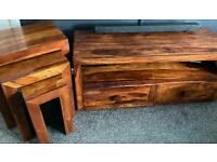 solid wood furniture sheesham tables and unit