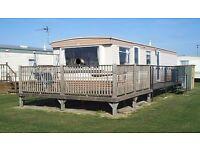 6 berth 3 bed caravan,ingoldmells,DOG FRIENDLY,millfields park,1-8 oct £165,part wks available