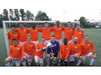 1 WINGER, 1 STRIKER NEEDED. Players wanted for South London Football Team H29D