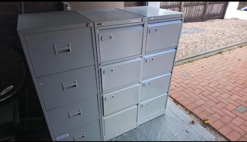 Metal Office Filing Cabinets