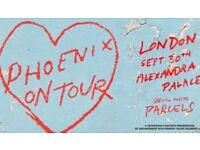 2 x Tickets to Phoenix 30 Sept Ally Pally