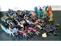 joblot of army toys and figures