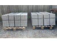 •New• Cracked Ice / Block Design Concrete Paving Flags / Slabs - 450x450