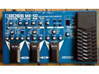 Boss ME-50 guitar effects