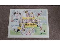 1998 Scottish Cup Winners Heart of Midlothian Print