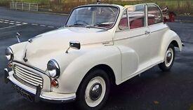 1964 Morris Minor Factory Convertable