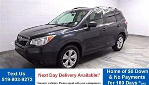 2014 Subaru Forester AWD! TOURING! PANORAMIC ROOF! REAR CAMERA!