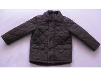 Boys quilted coat / jacket 3-4 years