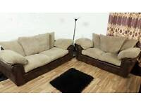 New/Ex display jumbo cord 3+2 seater*Free delivery*