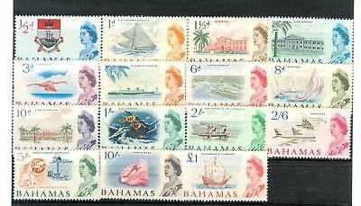 TURISMO - TOURISM BAHAMAS 1965 Common Stamps