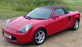 Toyota MR2 Roadster with factory hardtop