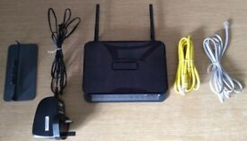Netgear Wireless N 300 Router (DGN2200)