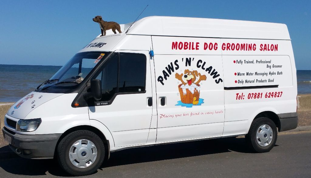 Paws n claws mobile dog groomer self contained grooming salon paws n claws mobile dog groomer self contained grooming salon solutioingenieria Images