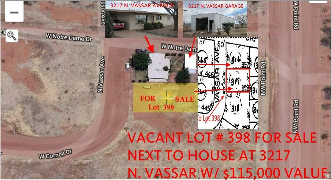 VACANT LOT NEXT TO