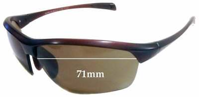 SFx Replacement Sunglass Lenses fits Maui Jim MJ429 Stone Crushers - 71mm (Maui Jim Australia)