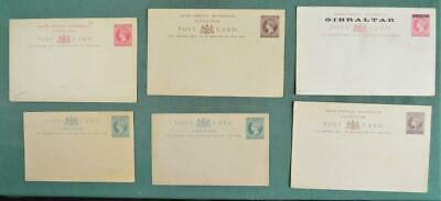 GIBRALTAR STAMP 6 COVERS CARDS STATIONARY UNUSED  (Z29)