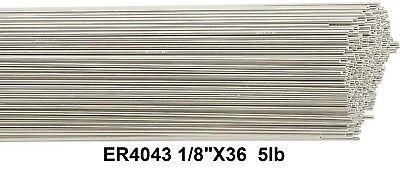 Er4043 Aluminum Tig Welding Rod Tig Welding Wire 4043 18 36 5ib Box Tig Rod