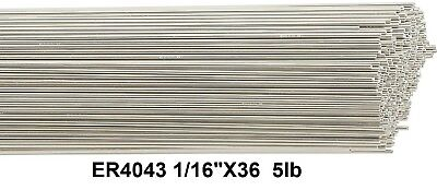 Er4043 Aluminum Tig Welding Rod Tig Welding Wire 4043 116 36 5ib Box Tig Rod