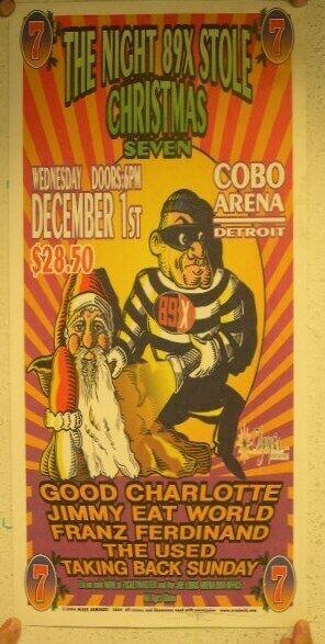 Good Charlotte Jimmy Eat World Franz Ferdinand Used Taking Back Sunday Poster