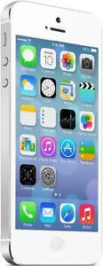 iPhone 5 32 GB White Unlocked -- 30-day warranty, blacklist guarantee, delivered to your door