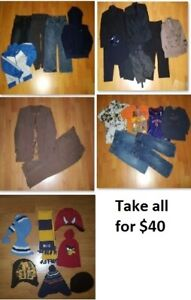 4T Boy Clothing Lot 2 (Take 28 Pieces for $40)