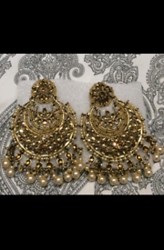 Antique gold earings