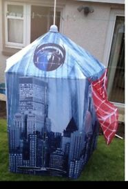 Spider-Man fabric playhouse