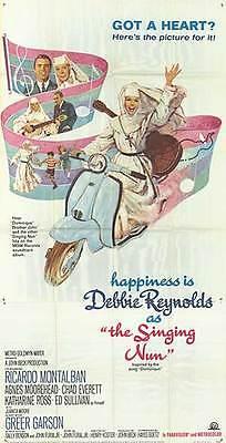 INNOCENTI LAMBRETTA 125 MOTOR SCOOTER 1966 original movie poster THE SINGING NUN
