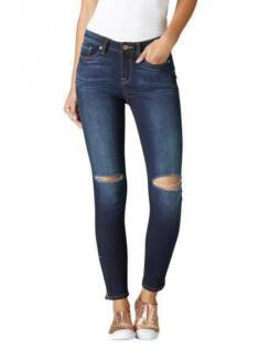 Jeanswest Ripped Knee 7/8th Dark Blue Jeans Size 8 Strathfield Strathfield Area Preview