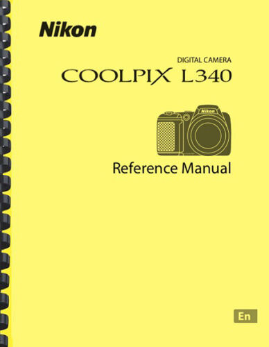 Nikon Coolpix L340 Digital Camera USER