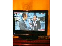 "15"". LCD TV , works OK in VERY clean condition ."