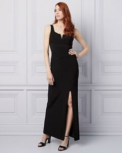 Le Chateau black evening dress