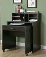 BRAND NEW BLACK OFFICE COMPUTER DESK - SALE 30% OFF