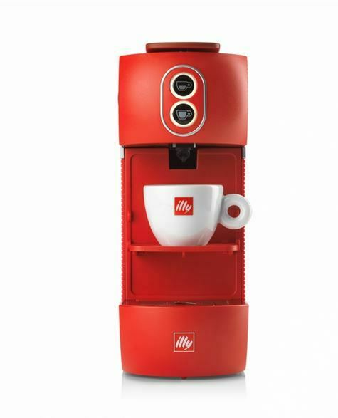 Illy Macchina compatta da caffè espresso Illy a cialde E.S.E con 18 cialde
