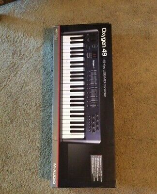 M-Audio Oxygen 49 Key MIDI Controller Used Only 4 Times! Great Condition!