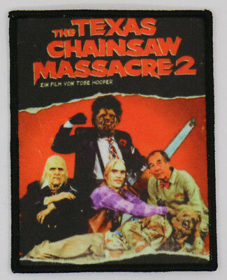 PATCH - The Texas Chainsaw Massacre 2 - HORROR / Slasher Chop Top Leatherface