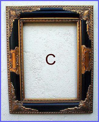 antik2000 Gemaelde Gemälde Bild Barock Holz Gold Stuck Rahmen Bilderrahmen C