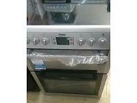[ex display] BEKO BDVC674MS 60 cm Electric Ceramic Cooker – Silver