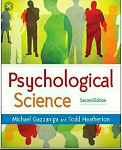Hard Cover Textbook of Psychological Science