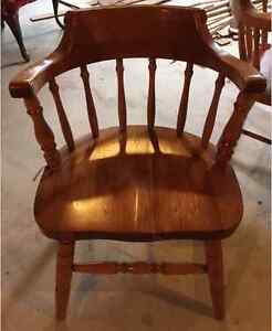 NEW PRICE! GEORGEOUS SET OF 6 SOLID CAPTAIN'S CHAIRS!! Peterborough Peterborough Area image 3