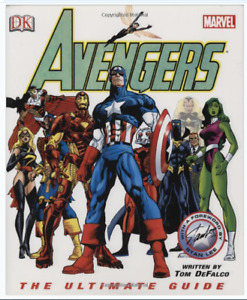 "(Like New!) ""Avengers: The Ultimate Guide"" Hardcover  Book"