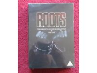 DVD 'ROOTS' THE COMPLETE MINISTERIES COLLECTION & THE GIFT, BRAND NEW CELLOPHANE SEALED & WRAPPED