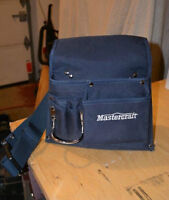 2 Pocket Tool Pouch with belt (Mastercraft) - Brand new