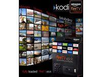 Amazon Fire Stick With Kodi & Mobdro Kodi Firestick