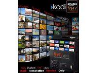 Amazon Fire Stick Kodi & Mobdro ( INSTALLATION & SERVICE)