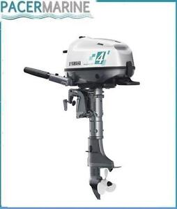 Yamaha 4hp outboard ebay for Yamaha 9 9 hp outboard motor manual