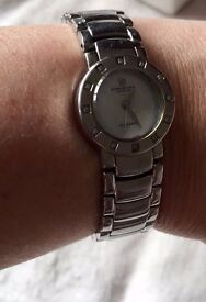 Christina Design London Stainless Steel Ladies Diamond Bracelet Watch