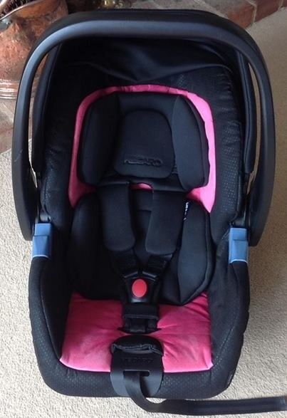 Recaro Privia Hero Group 0 Car Seat Pink Excellent Condition